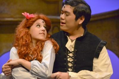 Princess Ariel and Prince Eric